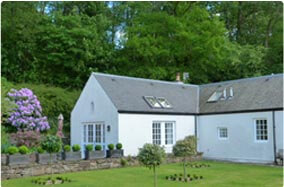rural country cottage close to Crieff