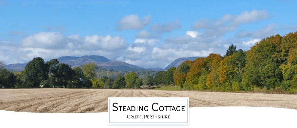 Scottish Holiday cottage Crieff, Perthshire highlands