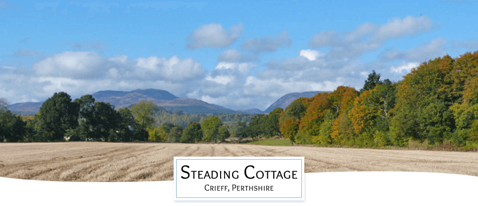 Scottish Holiday cottage Crieff
